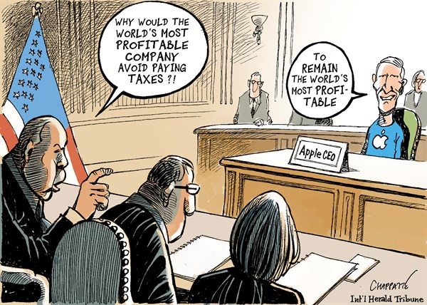 tax cartoon apple_1
