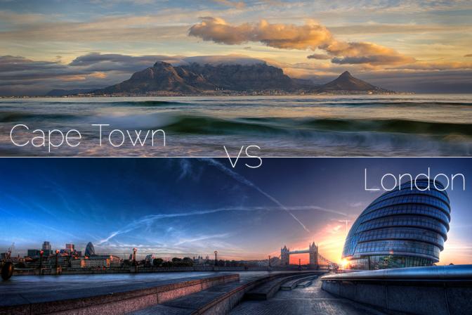 Cape Town VS London